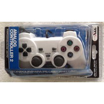 Control Analogo - Blanco - Playstation 1 O 2 - Ps1 Ps2