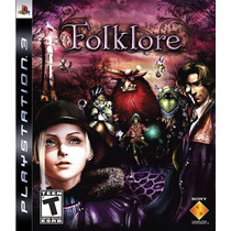 Entrega Hoy Playstation 3 Folklore Ps3, Original
