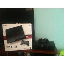 Playstation 3 De 160gb Programada Con Juegos Gta V Y Mas...