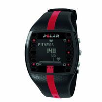 Reloj Polar Ft7 Negro Con Rojo Monitor De Frecuencia Cardiac