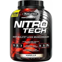 Nitro-tech Performance Series 4lb Original Registro Invima