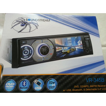 Soundstream Dvd,usb, Pantalla3.4,bluetooth,incamarareversa