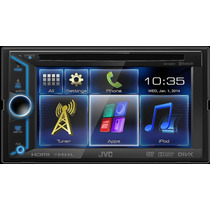 Radio Carro Jvc Kw V30bt Receptor De Dvd Bluetooth, Táctil
