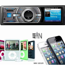 Radios Carro Sonido Usb Mp3 Sd Fm Aux Control Envio Gratis
