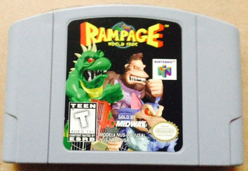 Rampage World Tour / Nintendo 64 / N64