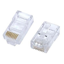 Conector Rj45 Cat 5 En Bolsa (100 Unidades)