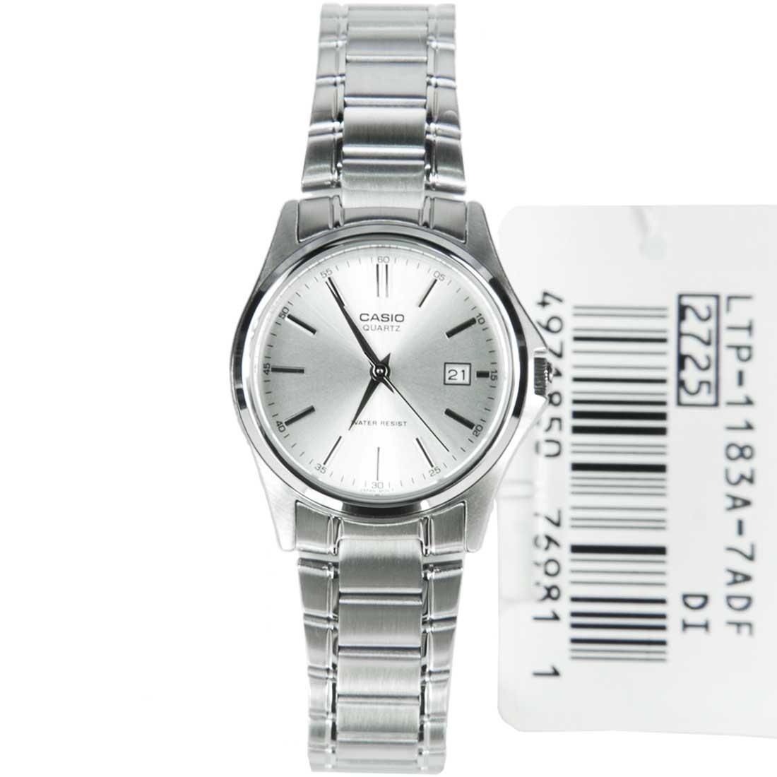 Compra Reloj Casio Dama Modelo Ltp 1183d-7a - Blanco online  f6ccd42f3609