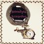 Collares Vintage, Reloj De Bolsillo - Bisutería