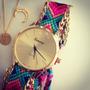 Reloj Geneva Pulsera Tejida Dama - Envio Gratis - Moda 2015