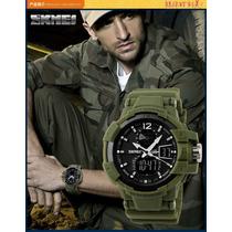 Reloj Militar Marca Skmei S-shock - Oferta Envio Gratis
