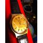 Reloj Omega Seamaster Años 80.s Cuarzo Enchape Gold