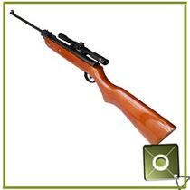 Rifle Escopeta Aire Diabolo 5.5 Mira Telescopica 4x20