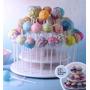 Exhibidor 21 Cupcakes Y 42 Cakepop Tres Niveles - Importado