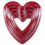 Cortadores Galletas Fondant Pastelería Cupcakes - Corazón