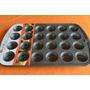 Molde Para 24 Minicupcakes Importado