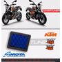 Filtro De Aire Simota Para Ktm Duke 200/390 - Envío Gratis!
