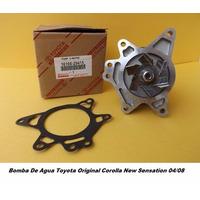 Bomba De Agua Toyota Original Corolla New Sensation 04/08