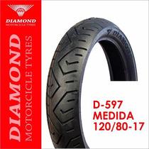 Llanta Diamond D-597 120/80 17 Sellomática (1145)