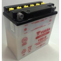 Bateria Yuasa Yb9-b 12v 9ah Cm200 Pulsar Plus 12n9-4b-1