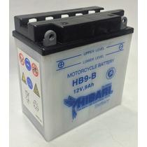 Bateria Hibari Yb9-b 12v 9ah Cm200 Pulsar Plus 12n9-4b-1