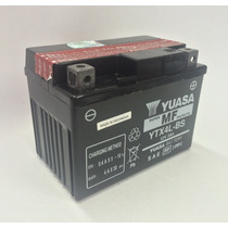 Bateria Yuasa Ytx4l-bs Adress Ts 125