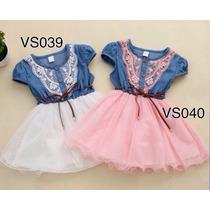 Vestidos Tutu Jeans Bebés Y Niñas, Ropa