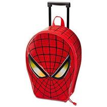 Maleta De Ruedas Spiderman Spider Man Hombre Araña Colegio