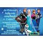 Invitacion De Frozen / Archivo Digital / Usted Imprime