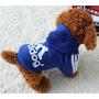 Buso Saco Mascota Adidog Talla M - Color Azul