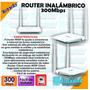 Router Inalámbrico N300mbps F300 Tenda / 4627