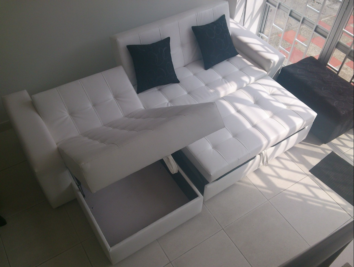 Sala reclinable auto design tech for Sofa cama puff barato