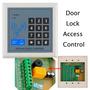 Kit Control Acceso 10 Llaveros Chapa Timbre Boton