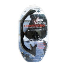 Careta + Snorkel Comando Marca Acuatec