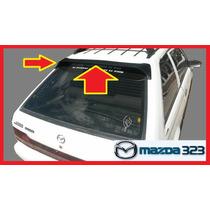 Spoiler Mazda 323 Tipo Original Luz Tercer Stop Cableado