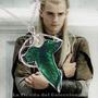 Collar Hoja De Los Elfos El Señor De Los Anillos Hobbit