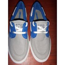 Zapatos Converse Azul/gris Talla 10 $ 139.990 Originales.