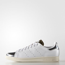 Zapatos Originals Stan Smith Silver Gold Talla 9,5 Us