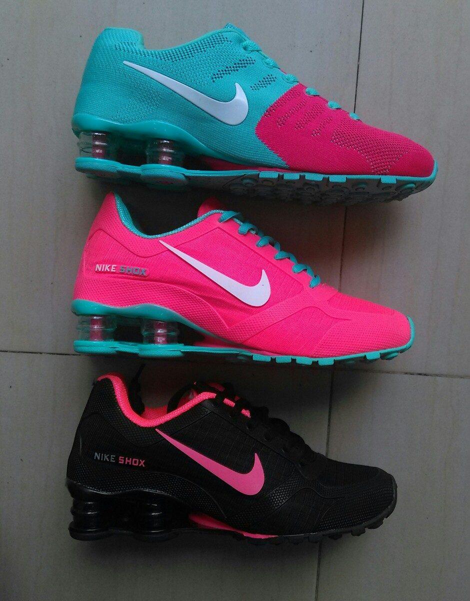 Tenis Zapatillas Nike Shox Mujer 2016 5 Colores - $ 145.000 en ...