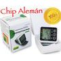 Tensiómetro Digital De Muñeca Con Chip Alemán Automático