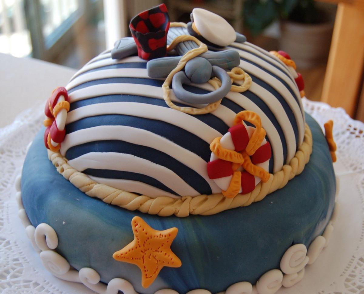 Torta Cumpleaños Marinero - $ 120.000 en MercadoLibre