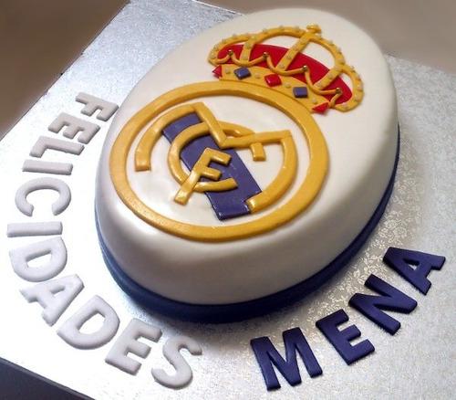 Torta Real Madrid Para 30 Personas - $ 135.000 en MercadoLibre
