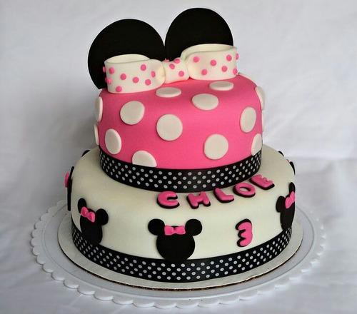 Tortas Y Cupcakes De Minnie Mouse - $ 120.000 en MercadoLibre