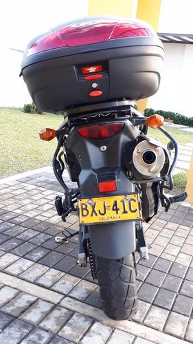 Touring Suzuki Vstrom Dl 650 Negra Mod 2010 72044 Kms