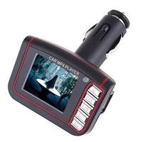Transmisor Fm Lcd 1.8 Mp4 Mp3 Videos Musica Carro Radio Usb