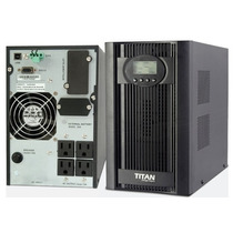 Ups Titan On-line 3kva Regulada Monofasica Redes Pcs Powest