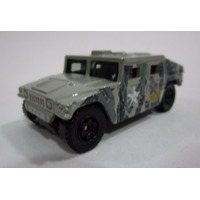 Jeep Campero Militar Hummer Humvee 7 Cm Largo Matchbox