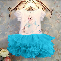 Vestido Frozen Disney Store Tutu - Elsa