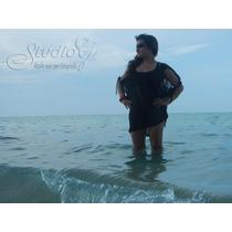 Salida De Baño Vestido Playa Piscina Pareo Bikini