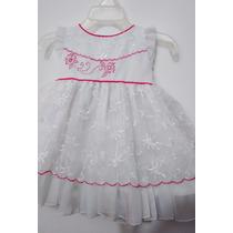 Vestido Para Niña Bautizo Talla Unica 0-3 Meses