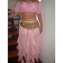 Promocion 3 Piece Belly Dance Set, Vestido Danza Arabe